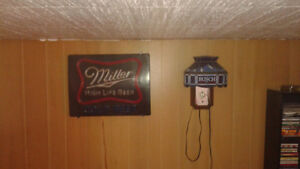 COLLECTION OF LIGHT UP BEER SIGNS LABATT COORS LIGHT Cornwall Ontario image 5