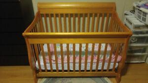 2in1 crib