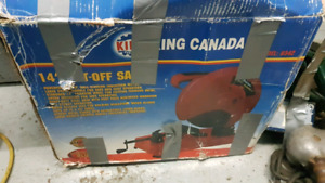 Cut off saw king canada