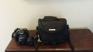 Canon Rebel T3i Camera with 2 lenses