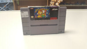 The Simpsons: Bart's Nightmare for SNES
