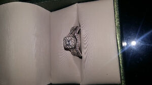 Canadian Diamond Bridal Set