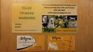 GIFT CERTIFICATE for DOG BOARDING KENNEL, DOG DAY CARE