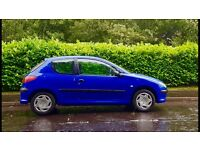 DIESEL Peugeot 206 HDI 1.4, 10 Months MOT, Full Service History, Very Clean