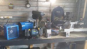 Lots d'outils d'atelier