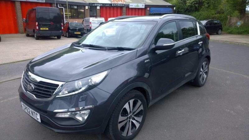 kia sportage crdi kx 3 sat nav diesel automatic 2013 62. Black Bedroom Furniture Sets. Home Design Ideas