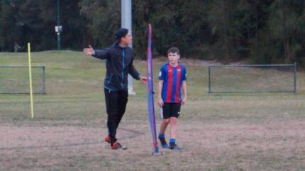 private football/ soccer coach 1 on 1