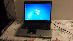 Used Acer Aspire 5110 Dual Core Laptop with Webcam and Wireless Cambridge Kitchener Area image 1