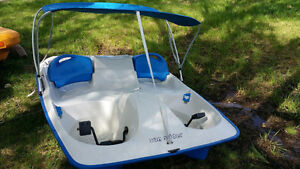Sun Dolphin Pedal (Paddle) boat with Canopy
