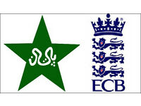 TWO England vs Pakistan 4th ODI One Day Cricket Tickets- Thu, 1st Sep- Headingley