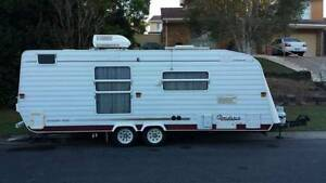 Roadstar Voyager 24ft Caravan Burleigh Waters Gold Coast South Preview