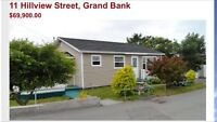 Grand Bank Newfoundland bungalow for sale