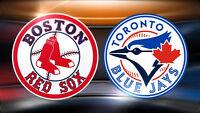 RED SOX BOSTON VS BLUE JAYS TORONTO **1er AVRIL 2016**