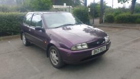 Ford Fiesta 1.2 Zetec LX **1 X YEAR MOT**