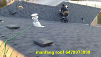 Man Fang professional roofing Free Estimate call 6479973999