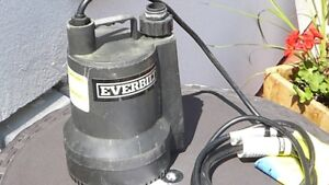 Water Pump Everbilt portable unit for Pool or Hot Tub