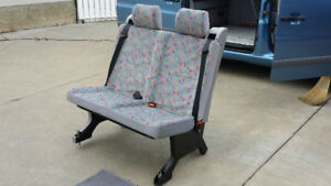 Westfalia bench seat with seat belts