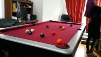 TABLE DE BILLARD OU DE POOL
