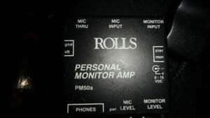 Rolls PM50s Personal Amp