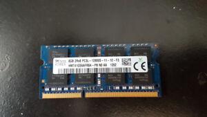 8GB (1 x 8GB), 204-pin SODIMM, DDR3 PC3L-12800, 1600mhz