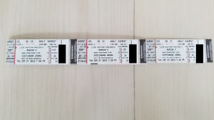 3 x Maroon 5 Tickets Toronto 9/27. actual tickets, great seats