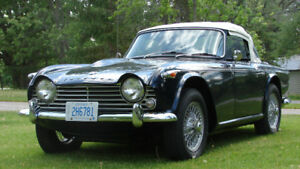 1967 Triumph TR4A Classic (w/Overdrive and IRS)
