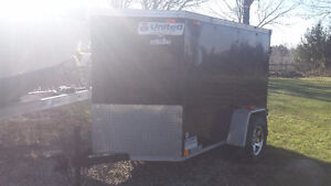 5x8 enclosed trailer for rent