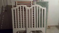 Baby Crib - White and Great Condition
