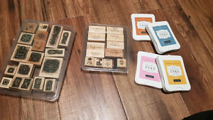 Stampin Up  Stamps with Close to my Heart Ink Pads