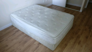 Free Double Mattress and Boxspring
