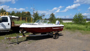 81' Delta Craft - Boat, Motor, Trailer and accessories package!!