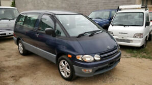 1997 Toyota Estima Lucida Turbo Diesel 4WD 5 Speed Only 40K