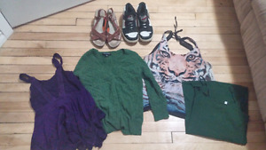 Various women's clothing & shoes
