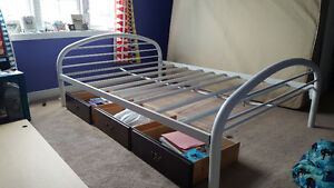 Full/Double Bed Frame and Drawer Unit