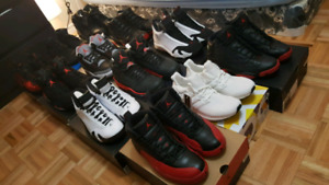 Air Jordans for sale!! Black cement flu games and more..