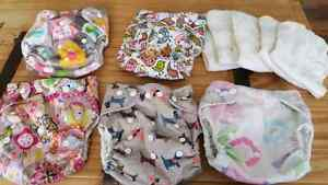 Couche lavable bamboo/ clothe diapers