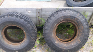 Military tires 9.00x16