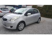 2006 Toyota Yaris 1.0 VVT-i T3 5 Doors Hatchback in Silver
