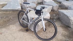Road bike fixie aluminum .track bike.