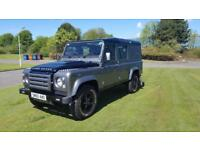 2010 60 PLATE LANDROVER DEFENDER 110 X5 TURBO DIESEL 4X4