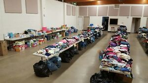 Free Clothes for Fort McMurray Families and People in Need