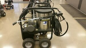HOT WATER PORTABLE KARCHER PRESSURE WASHER -- FINANCE AVAILABLE! Edmonton Edmonton Area image 8