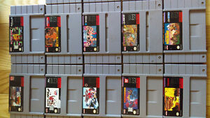 Snes games for sale as a bundle or seperate