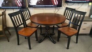 Beautiful Ashley 5PC Dinette Set Available for Sale!