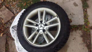 Great Rims and new snow tires 205/R55/16