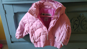Girls size 4T Columbia Spring Bomber Jacket