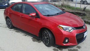 2014 Toyota Corolla S Sedan 6 Speed Manual