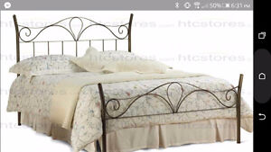 Amisco Queen Size Bed Frame