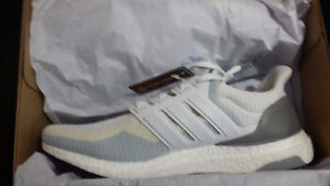 Ultra boost white gradient size 10.5 deadstock