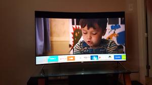SAMSUNG SMART TV (CURVED)